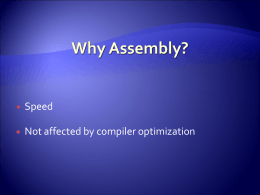 Atmel AVR Assembly Language