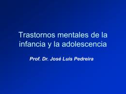 Trastornos mentales de la infancia y la adolescencia/1