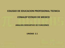 UNIDAD 2.1 - Auto Estudio