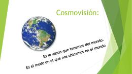 Cosmovisiones i