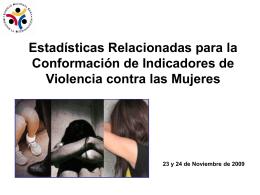 Diapositiva 1 - Instituto Nacional de las Mujeres
