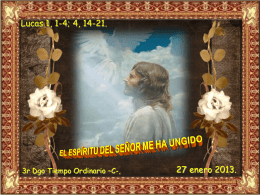 Tiempo Ordinario 3 domingo -C- 24-01-10