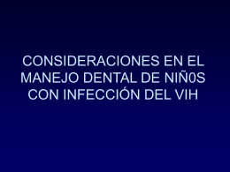 Considerations in the Dental Management of Children with