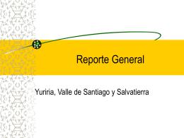 Reporte General - INADEM