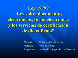 Ley 19799 - Bienvenidos al Departamento de …