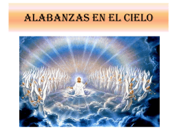 ALABANZAS EN EL CIELO