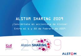 Alstom Sharing 2009