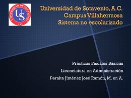 Universidad de Sotavento, A.C. Campus Villahermosa …