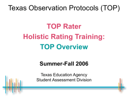 Texas English Language Proficiency Assessment System …