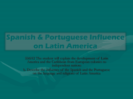 Language and Religion in Latin America