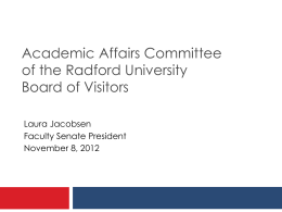 Academic Affairs Committee