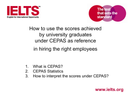 Brief Introduction to IELTS - Workplace English Campaign