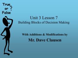 Unit 3 Lesson 7