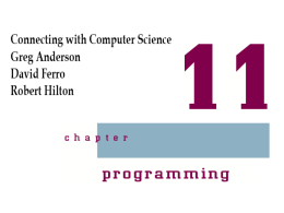 Introduction to Computer Science