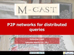 Prezentacja programu PowerPoint - M-Cast