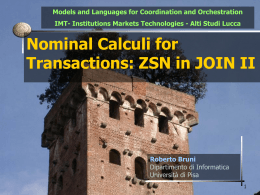 Formal Models for Distributed Negotiations: Transactions