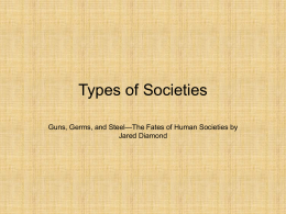 Types of Societies - The Heritage School, Newnan