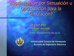 Constrained Simulation Optimization