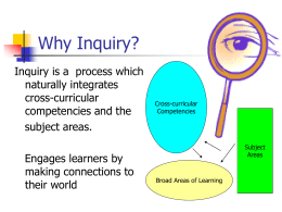 Inquiry-Based Projects