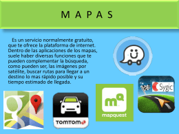 MAPAS - I like the idea | my stuff