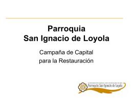 San Ignacio de Loyola - Mensajeros de la Reina de la Paz