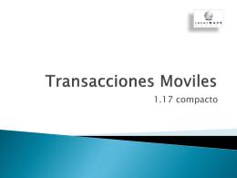 Transacciones Moviles