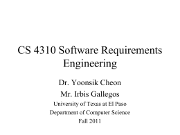 Requirements Engineering-1