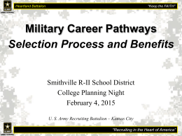 Military Career Pathways