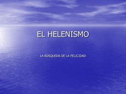 HELENISMO - IES JORGE JUAN / San Fernando