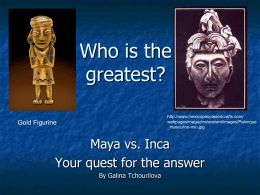 Who is the greatest? - University of Texas at Austin