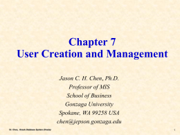 Chapter 3 Effects of IT on Strategy and Competition