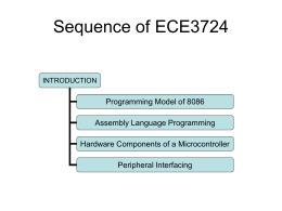 Sequence of ECE3724 - Mississippi State University