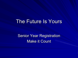 The Future is Yours - Francis Howell High School
