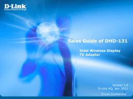 Intel's WiDi Sales Guide