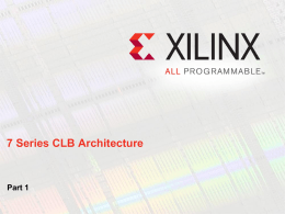 Xilinx Template (light) rev