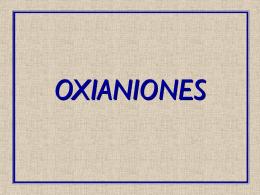 OXIANIONES - [DePa] Departamento de Programas …