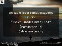 Romanos - Iglesia Biblica Bautista de Aguadilla, Puerto Rico