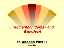 Fragmentation and Survival