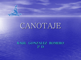 CANOTAJE