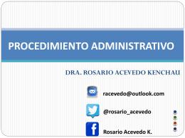 Procedimiento Administrativo Sancionador