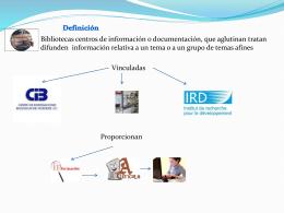 Diapositiva 1 - Maestria en Bibliotecologia