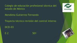 "Control interno administrativo""."