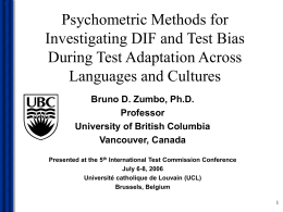 DIF Methods - University of British Columbia