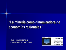 ESTUDIO DE IMPACTO ECONOMICO DE LA ACTIVIDAD …