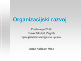 Organizacijski razvoj