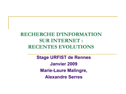 1/ PRESENTATION GENERALE : DIFFERENTS ASPECTS ET …