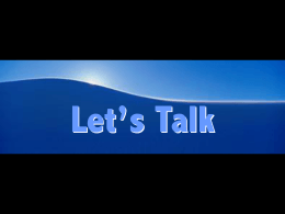 Let's Talk: Images and Questions for Conversation