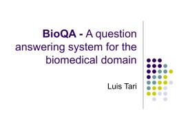 BioQA