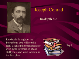 Joseph Conrad - Arlington Independent School District