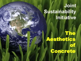 Joint Sustainability Initiative